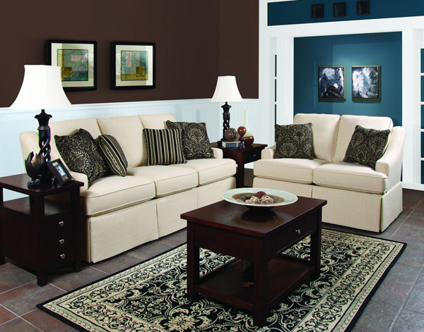 England Furniture Addison Stationary Sofa