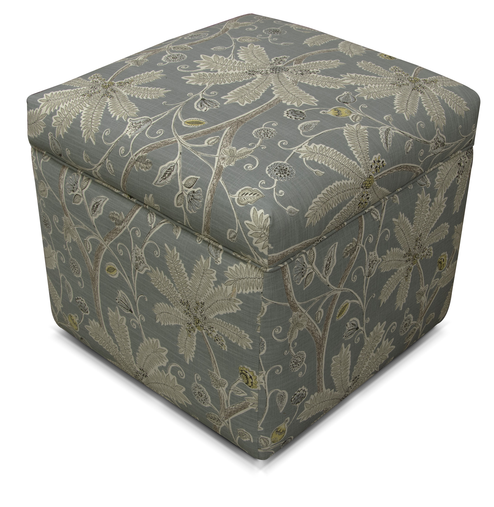 England Furniture Reviews Idienne Ink Mineral Ottoman