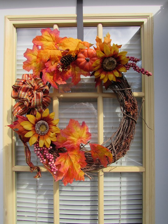 England Furniture Autumn Design - Wreath