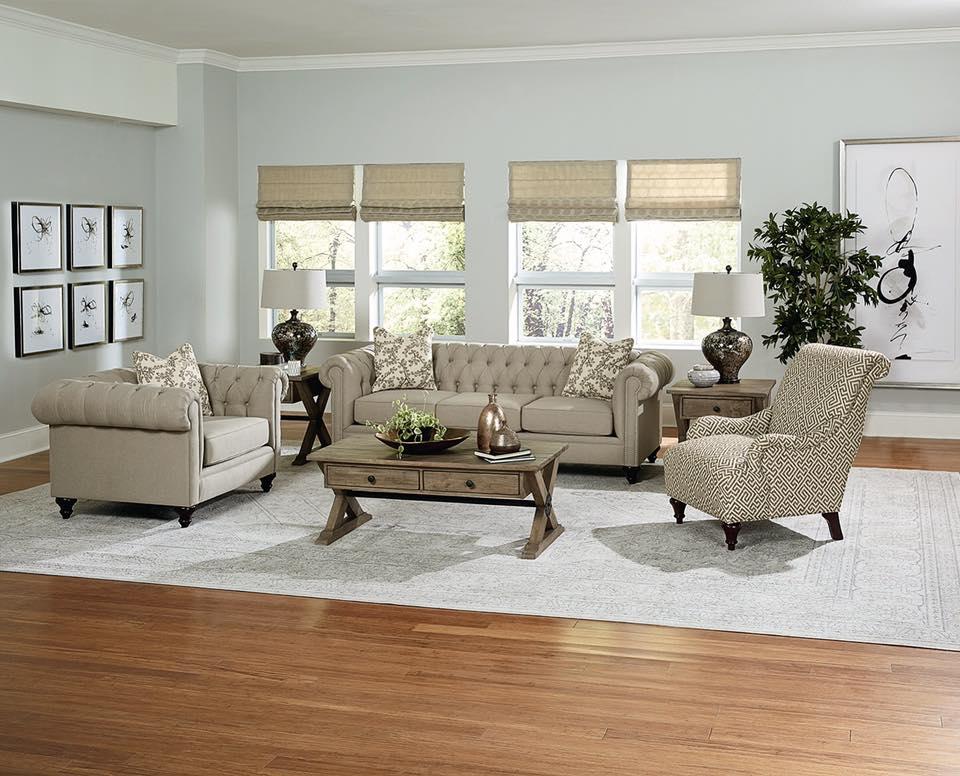 England Furniture Arrangement
